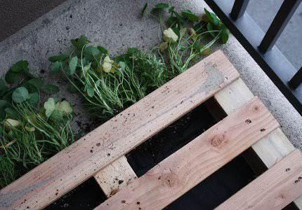 How to Make a DIY Pallet Garden Pallet Planters & Compost Bins Pallets in the Garden