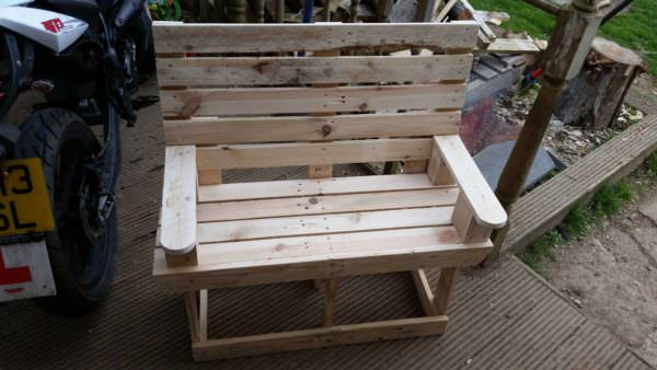 Kids Pallet Bench Pallet Benches, Pallet Chairs & Stools