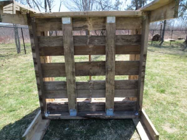 Pallet Planter to Avoid Backaches Pallet Planters & Compost Bins