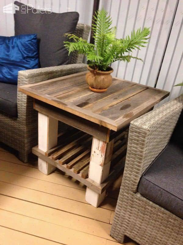 Side Board From Recycled Hardwood Fence Palings Pallet Furniture