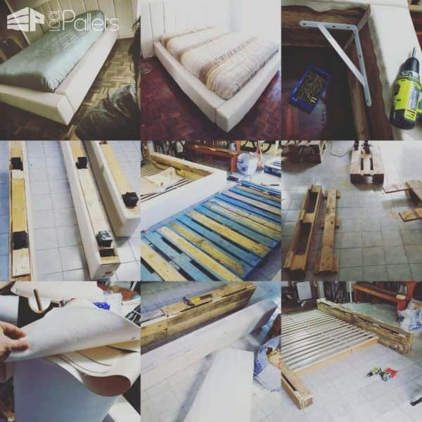 10 Pallets Bed Pallet Beds, Pallet Headboards & Frames
