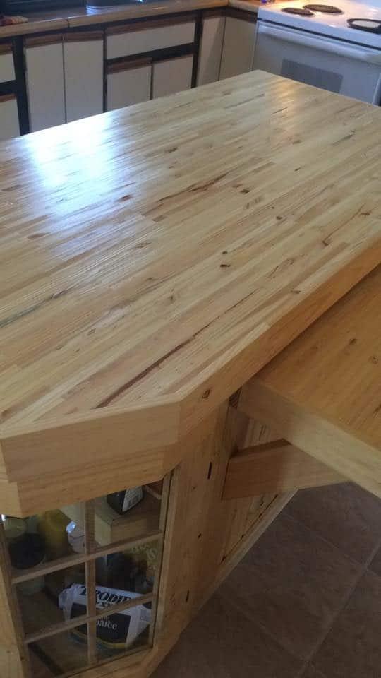 Handmade Kitchen Island Pallet Desks & Pallet Tables
