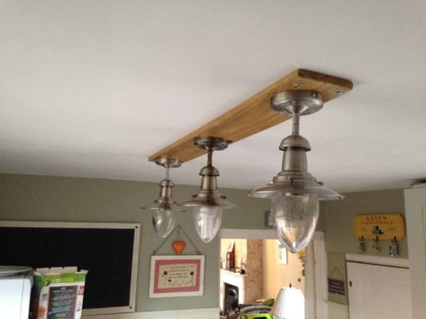 How I Made This Light Fitting for My Kitchen Pallet Lamps & Lights