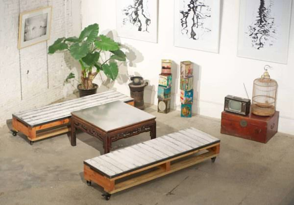 How to Combine Upcycled with Brand Furniture Pallet Furniture