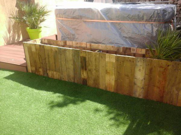 Jardiniere / Large Pallet Planter Pallet Planters & Compost Bins