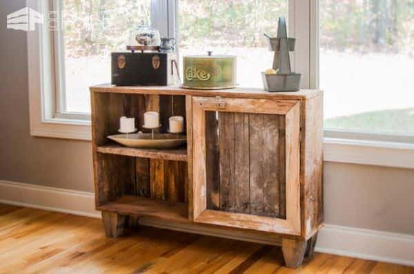 Pallet and Reclaimed Wood Decoration for a Contemporary House Pallet Projects