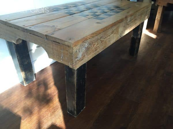 Pallet Game/Coffee Table Pallet Coffee Tables