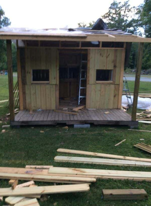 Pallet Kids Playhouse Pallet Sheds, Cabins, Huts & Playhouses