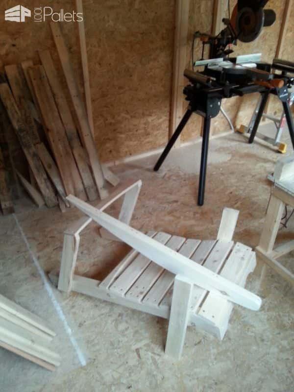 Rocking Chairs Lounges & Garden Sets Pallet Furniture