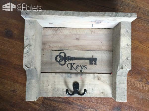 Rustic Pallet Key Holders Pallet Home Décor Ideas Pallet Walls & Pallet Doors