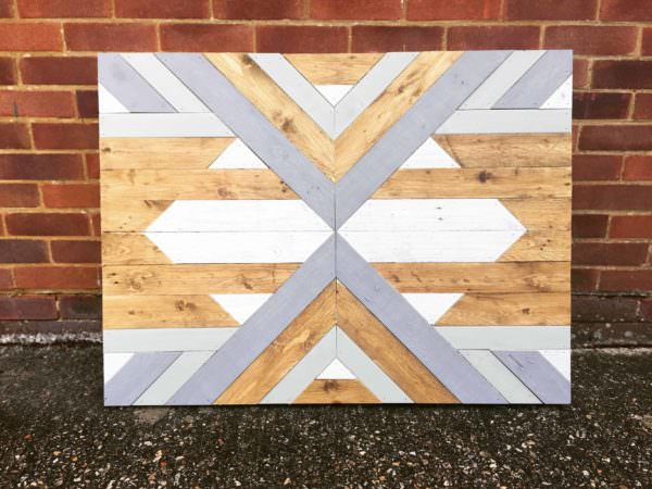 Chalk Paint Pallet Wall Art Pallet Wall Decor & Pallet Painting