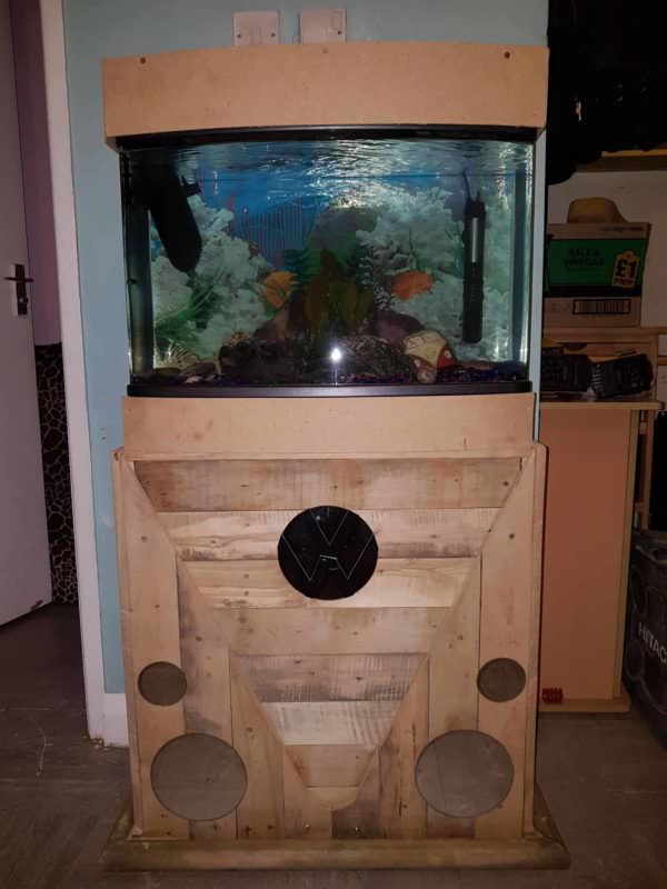 Pallet Fish Tank Stand Pallet Home Accessories