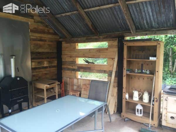 Amazing Pallet Shed Renovation Pallet Sheds, Cabins, Huts & Playhouses