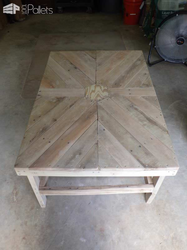 Beautiful Hexagonal Coffee Table Pallet Coffee Tables