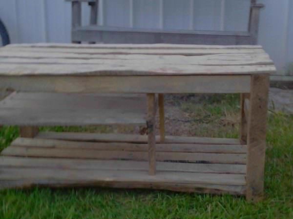 Heavy Pallet Bench Other Pallet Projects Pallet Benches, Pallet Chairs & Stools