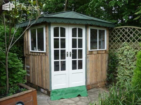 Amazing Pallet Summer Cottage Pallet Sheds, Cabins, Huts & Playhouses