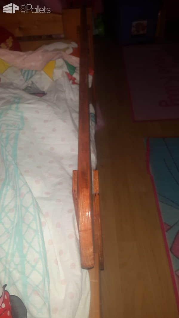 Pallet Bed Railing Pallet Beds, Pallet Headboards & Frames