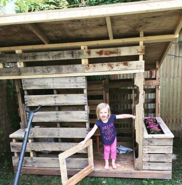 Pallet Playhouse Pallet Sheds, Cabins, Huts & Playhouses