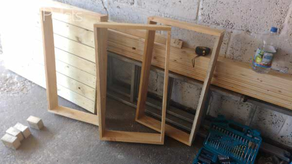 Pallet Wine Storage Rack Pallet Boxes & Chests
