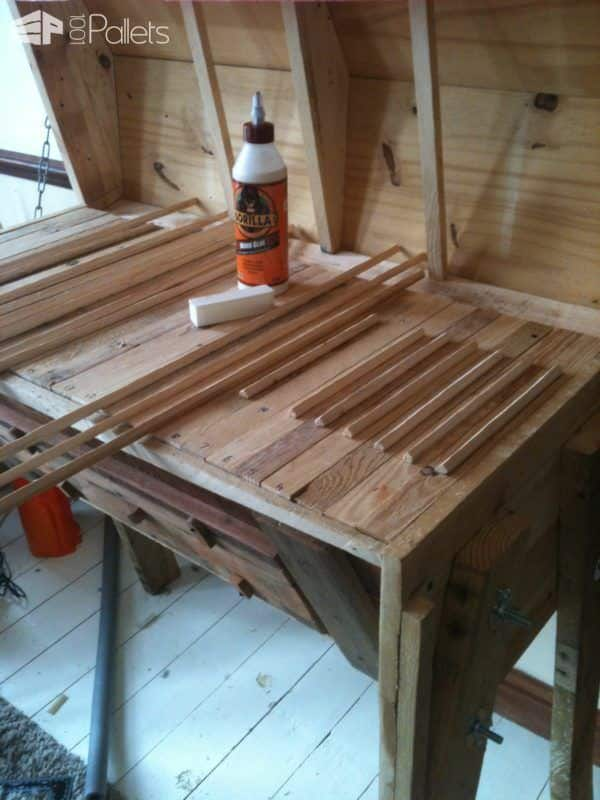 Top Bar Pallet Beehive Animal Pallet Houses & Pallet Supplies
