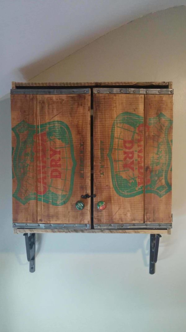 Oh-canada-dry Pallet Bathroom Cabinet Pallet Cabinets & Wardrobes