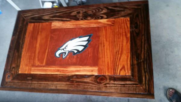 Philly Eagles Fan Pallet Coffee Table Pallet Coffee Tables
