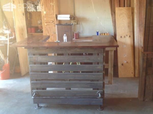 Adjustable-height U-shaped Pallet Bar Pallet Bars