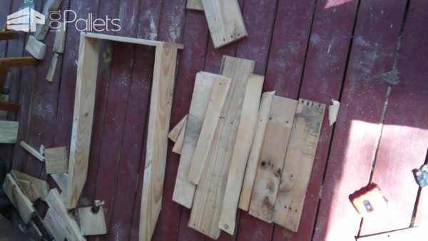 Just For Me Pallet Adirondack Style Chair Pallet Benches, Pallet Chairs & Stools