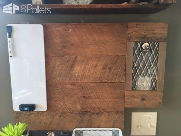 Multi-tasking Pallet Kitchen Organizer Center Pallet Home Accessories Pallet Wall Decor & Pallet Painting