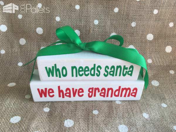 28 Gorgeous Diy Christmas Décor Ideas Pallet Home Décor Ideas
