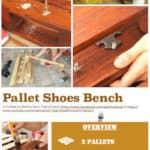 Diy Tutorial: Pallet Shoes Bench / Rack Other Pallet Projects
