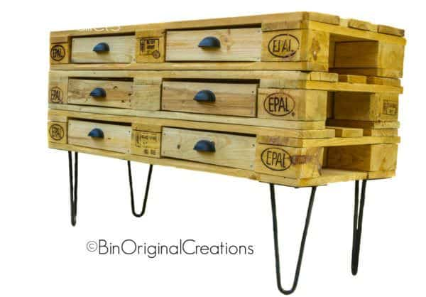 Etsy Product of the Week: Gorgeous Pallet Dresser Other Pallet Projects Pallet Cabinets & Wardrobes