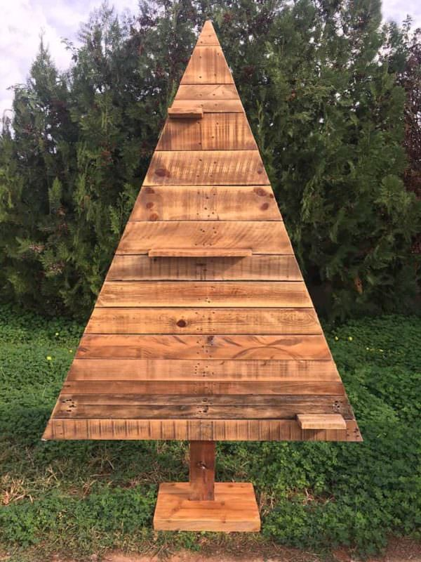 Pretty Pallet Christmas Tree Collection Pallet Home Décor Ideas