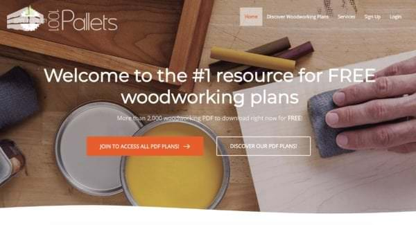 Where to Find Free Woodworking Plans: 9 Must-follow Sources Pallet Furniture Workshop and tools