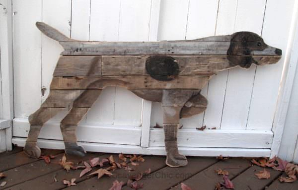 German Short Haired Pointer Pallet Wall Art Pallet Wall Decor & Pallet Painting