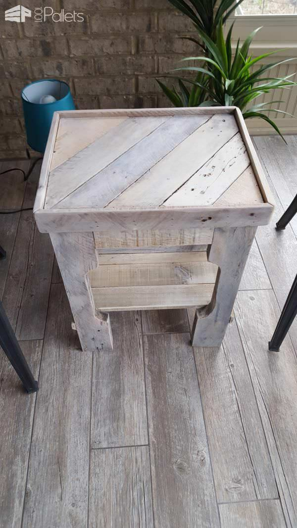 Florida Room Pallet Coffee Table With Matching End Tables Pallet Coffee Tables