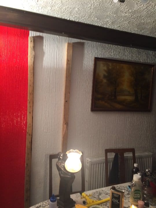 Change Drab Into Fab Making Pallet Wall Accents Pallet Walls & Pallet Doors