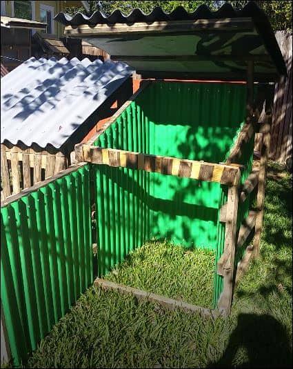 Protect Your Pallet Projects Using Onduline Asphalt, Polycarbonate/Vinyl Panels Animal Pallet Houses & Pallet Supplies Pallet Planters & Compost Bins Pallet Projects Pallet Sheds, Cabins, Huts & Playhouses