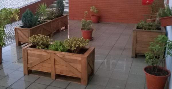 Pair O' Patio Pallet Planters Pallet Planters & Compost Bins