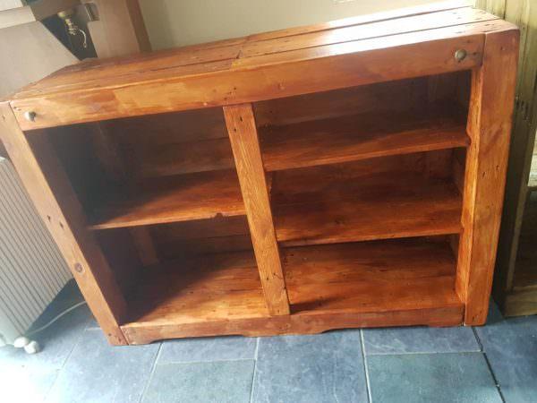 Multi-shelf Pallet Bookcase Pallet Bookcases & Bookshelves