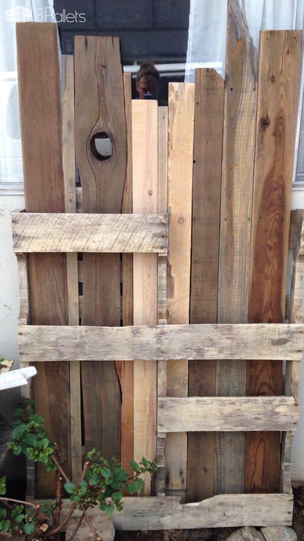 Ornamental Pallet Vertical Shade Garden Pallet Planters & Compost Bins