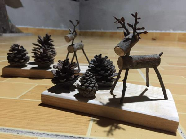 Upcycled Nature Scenes: Fun Pallet Desk Decorations Fun Pallet Crafts for Kids Pallet Home Accessories