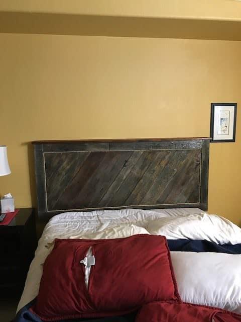 Interior Door Pallet Head Board Pallet Beds, Pallet Headboards & Frames