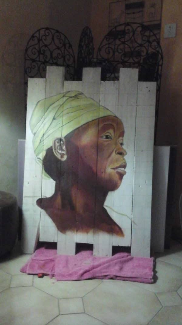 Pallet Wood Oil Paintings Are Stunning! Pallet Wall Decor & Pallet Painting