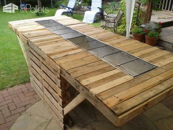17 Summer Holiday Pallet Project Ideas! Lounges & Garden Sets Pallet Bars Pallet Desks & Pallet Tables