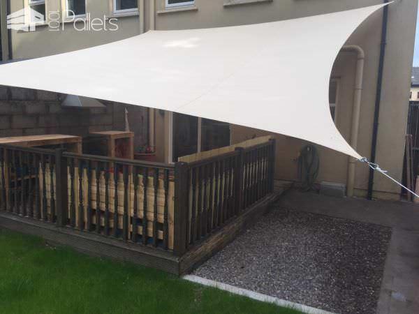 Terrific Pallet Lounge Set Updates Plain Yard Lounges & Garden Sets