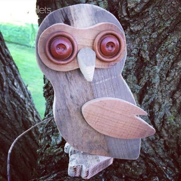 Diy Video Tutorial: Pallet Wood Owl DIY Pallet Video Tutorials Pallet Wall Decor & Pallet Painting