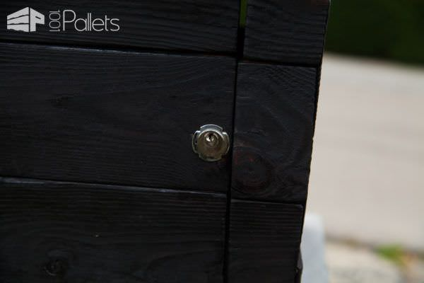 Diy Video Tutorial: Shou Sugi Ban Pallet Mailbox DIY Pallet Video Tutorials Pallet Boxes & Chests