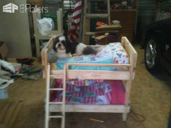 Pamper Your Pup: 11 Plush Pallet Dog Bed Ideas For You! Animal Pallet Houses & Pallet Supplies