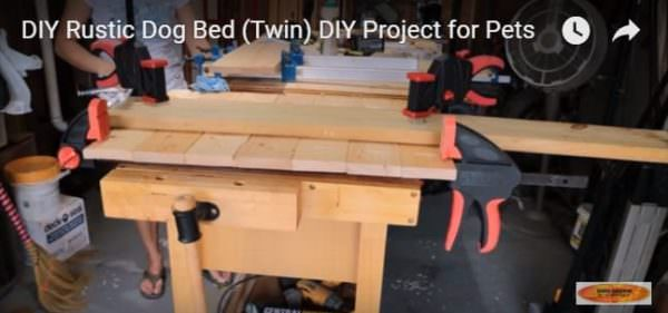 Diy Video Tutorial: Pallet Two-dog Bed Animal Pallet Houses & Pallet Supplies DIY Pallet Video Tutorials